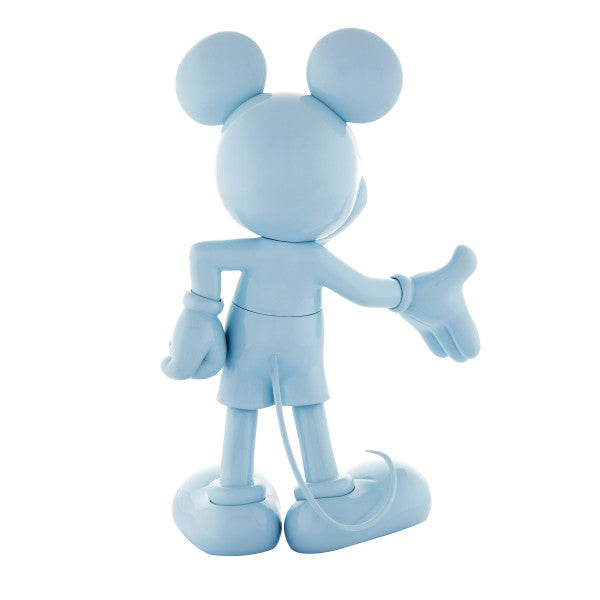 Mickey Welcome Azul Pastel. 30 cm