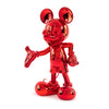 Mickey Welcome Chrome Red. 30 cm