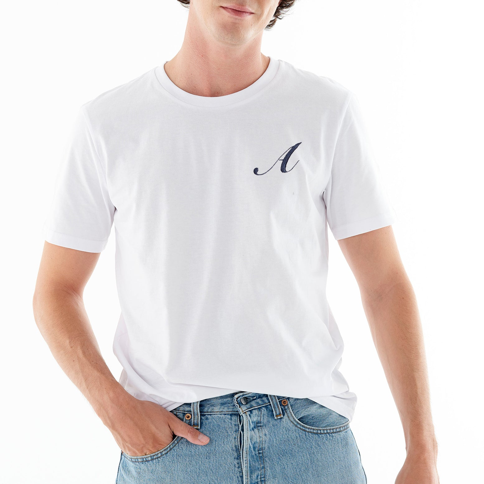 Personalized ANCLADEMAR White T-Shirt