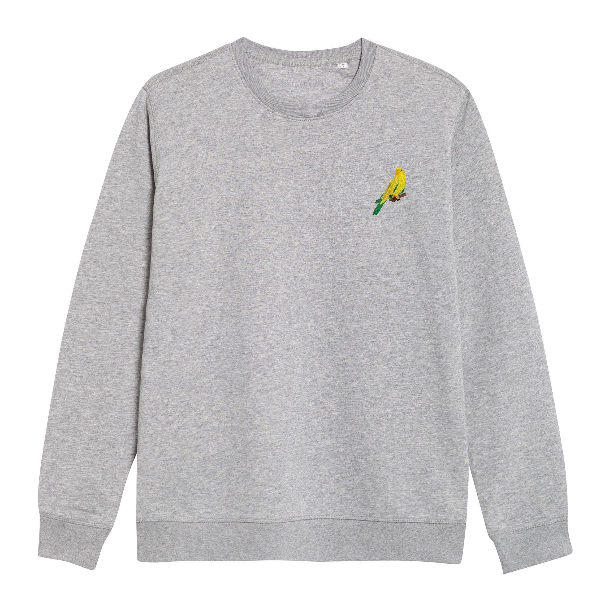 Grey Sweatshirt. The Parrot