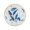 Plato Porcelana BLUE FLOWER. 23 cm