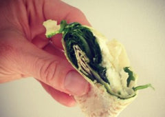 Goats Cheese And Greens Wrap