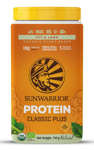 Sunwarrior Classic PLUS Organic Natural 750g