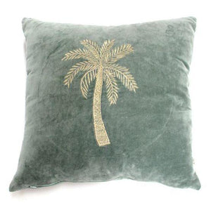 ALA-CUSHION-GREEN-PALMTREE-VELVET-PF