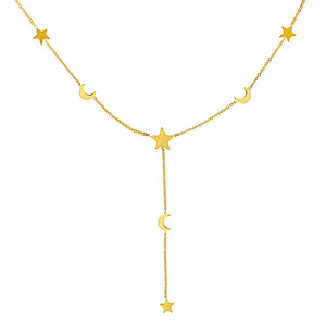 Galaxy Gold - Necklace