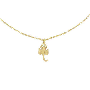 YEHWANG-SCORPIO-GOLD-NECKLACE-PF1