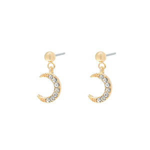 YEHWANG-GALAXY-GOLDEN-GLITTER-MOON-EARRINGS-PF1
