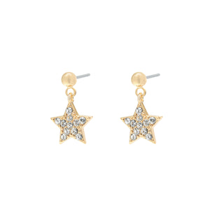 YEHWANG-GALAXY-GOLDEN-GLITTER-STAR-EARRINGS-PF1