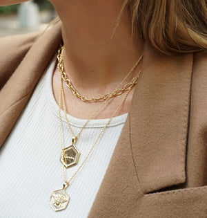 INDY-GOLDEN-NECKLACE-GOUDEN-KETTING-BEE-ELINE-ROSINA-SF2