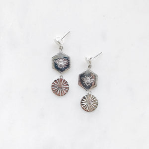 INDIAN-SUMMER-SILVER-EARRINGS-ZILVEREN-OORBELLEN-SUMMER-ELINE-ROSINA-SF1