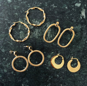 Knocker Gold - Earrings