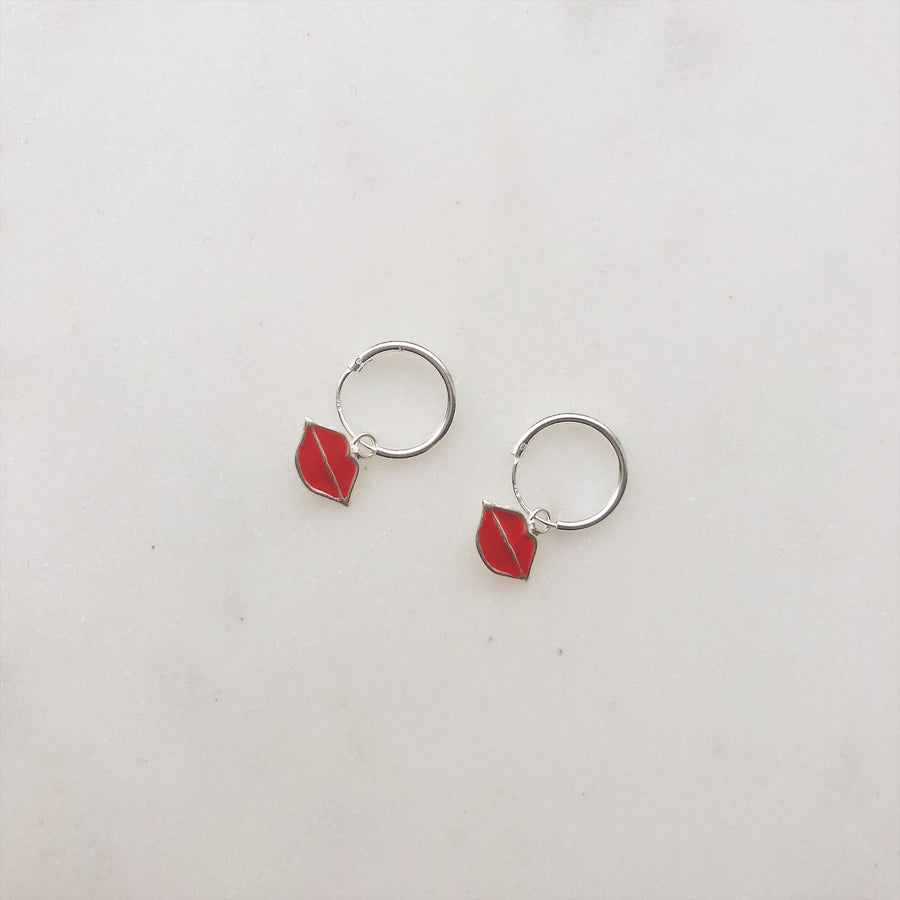 ELINE-ROSINA-LIPS-SILVER-EARRINGS-PF