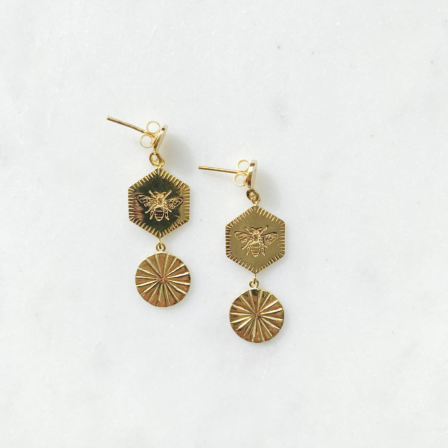INDIAN-SUMMER-GOLDEN-EARRINGS-GOUDEN-OORBELLEN-SUMMER-ELINE-ROSINA-PF1