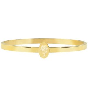 Plate Rose Golden - Bangle