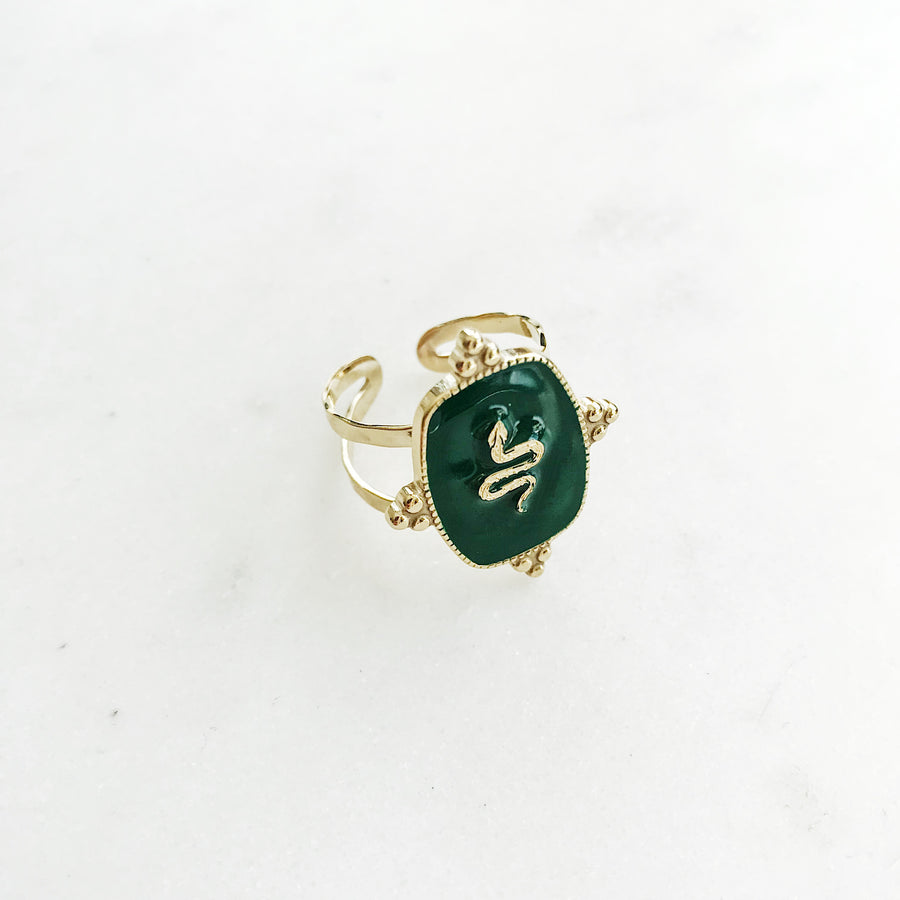 PRECIOUS-SNAKE-GREEN-RING-PF1