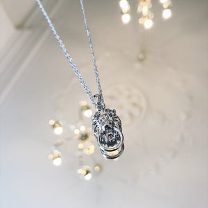 YEHWANG-LION-SILVER-NECKLACE-SF