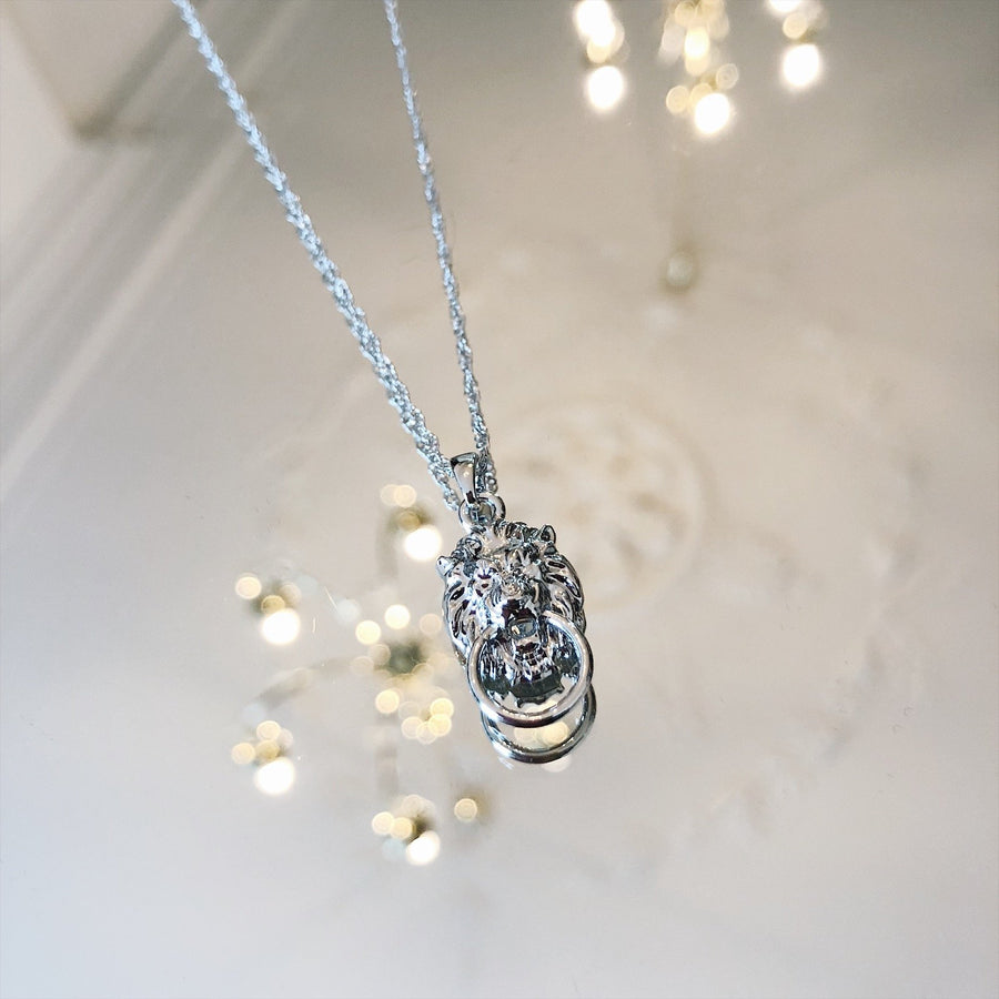 YEHWANG-LION-SILVER-NECKLACE-PF