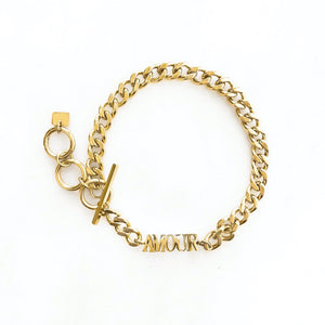 Amour Chain Golden - Bracelet