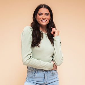 Anna Long Mint - Top