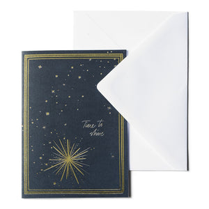 Blue Star - Greeting Card
