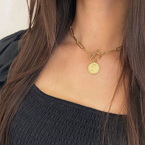 Coin Chain Golden - Necklace