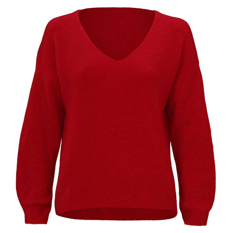 AMBIKA-DANIELLA-RED-KNIT-PF