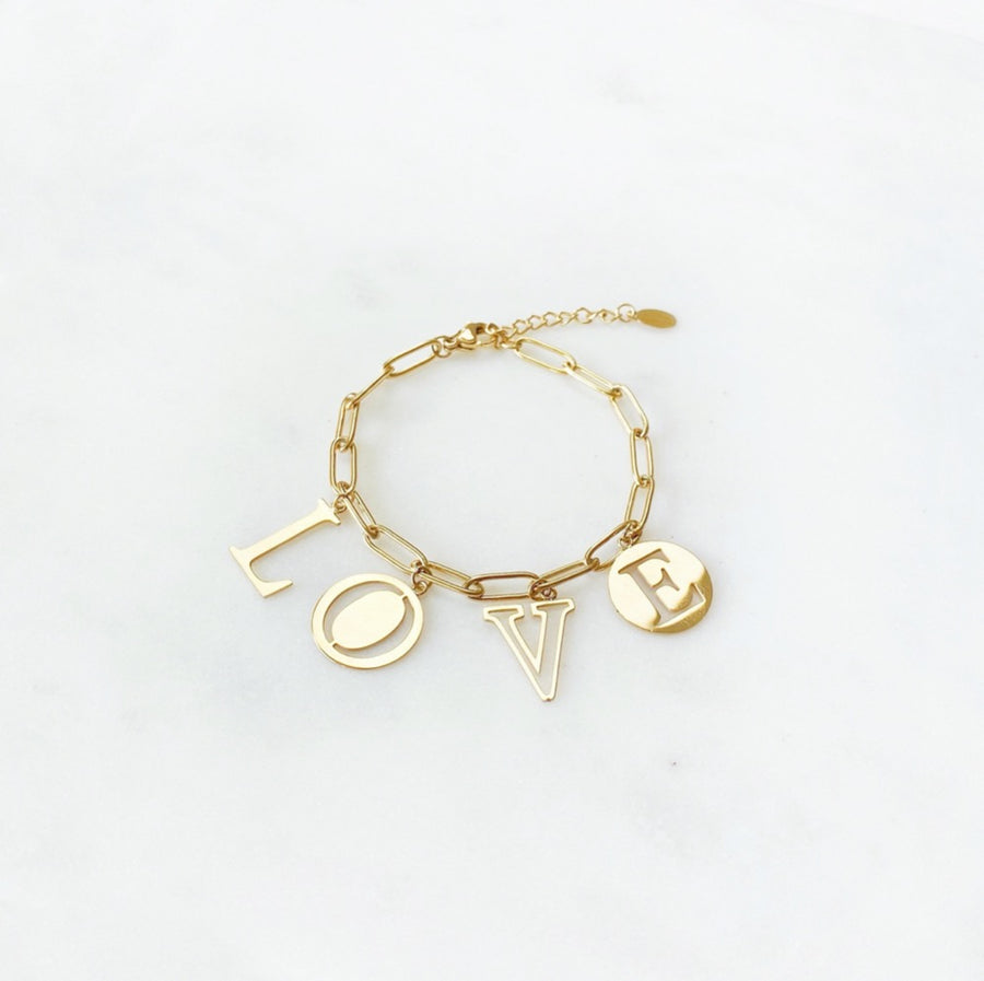 Love Letter Golden - Bracelet