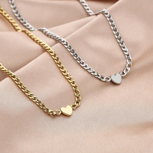 DULCE-SILVER-GOLDEN-HEART-NECKLACE-SF1