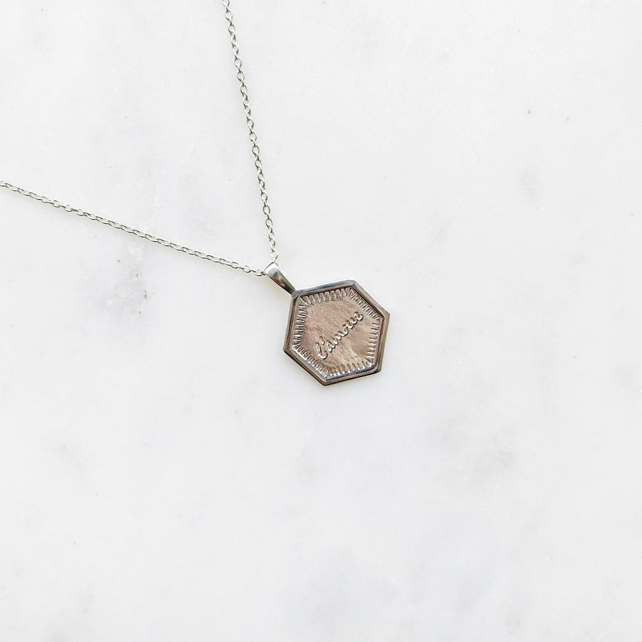L'AMOUR-SILVER-NECKLACE-ZILVEREN-KETTING-LOVE-ELINE-ROSINA-PF1