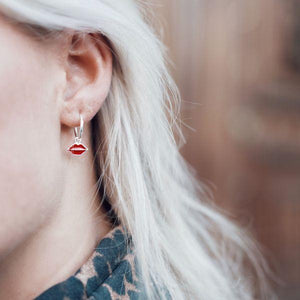 ELINE-ROSINA-LIPS-SILVER-EARRINGS-SF
