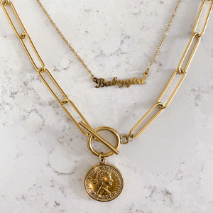 GOUDEN-KETTING-MUNT-COIN-CHAIN-GOLDEN-NECKLACE-SF1