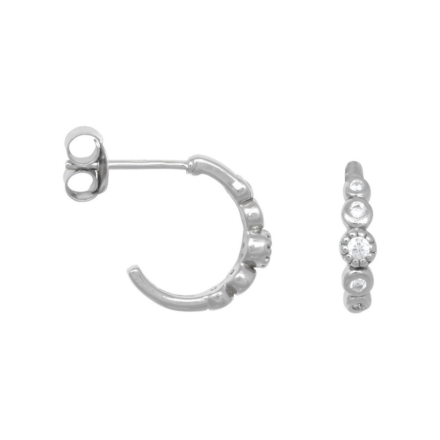 ER-FIVE-STONED-WHITE-ZIRCONIA-SILVER-HOOPS-PF1