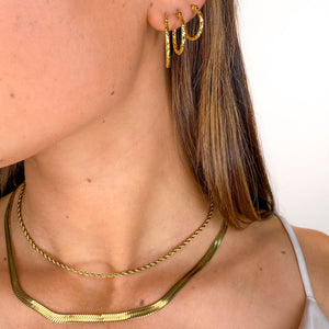 Ame Golden - Necklace