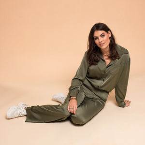 Glennis Army Green - Blouse