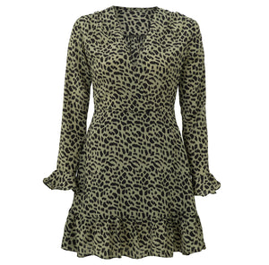 GROEN-PANTERPRINT-JURKJE-MAGGY-GREEN-DRESS-PF1