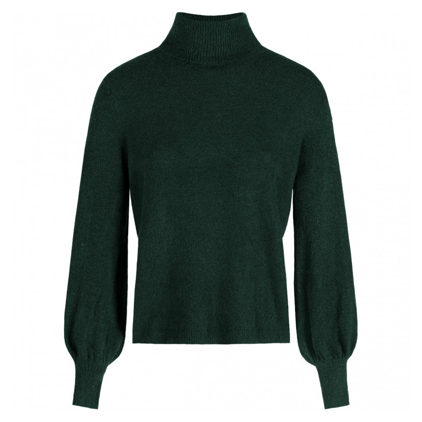 ROMI-GREEN-KNIT-PF1-DONKER-GROENE-TURTLE-NECK-MOST-WANTED