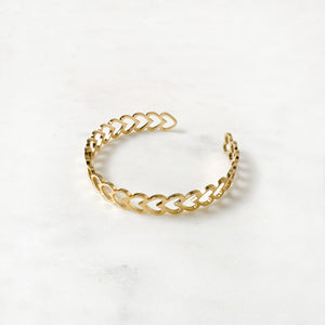Hearts Golden - Bracelet