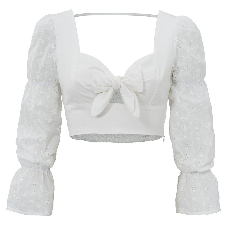 Orla White - Crop Top
