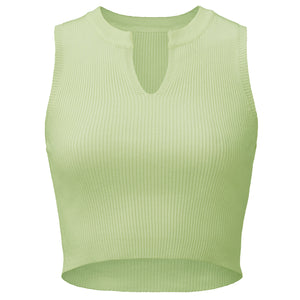 Veerle Mint - Crop Top