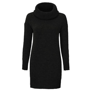 VALENTINO&CO-LENA-LONG-BLACK-KNIT-PF