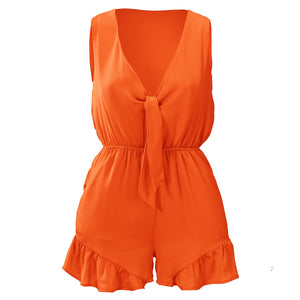 Janni Orange - Playsuit