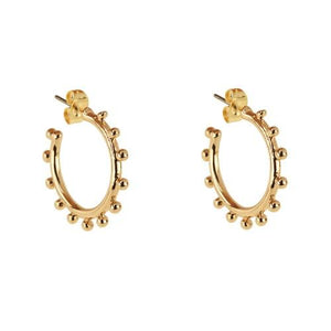 CM-CLUBMANHATTAN-EARRINGS-GOLD-STUDDED-BALLOON-PF