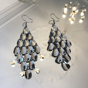 PIECES-KAMILLE-SILVER-EARRINGS-SF