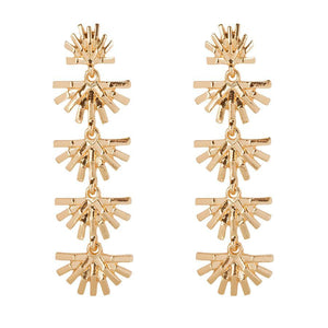 Sunburst Golden - Earrings