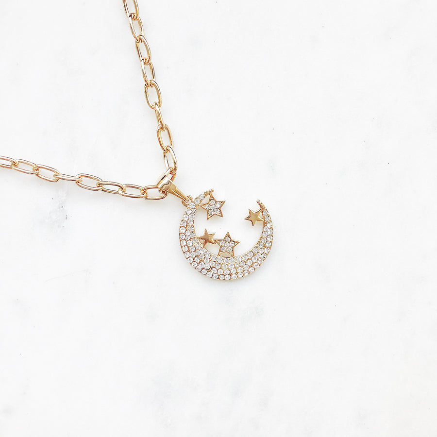 Feline Golden - Necklace