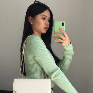 Kaeli Mint - Crop Top