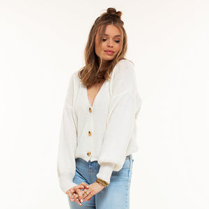 Estelle White - Cardigan