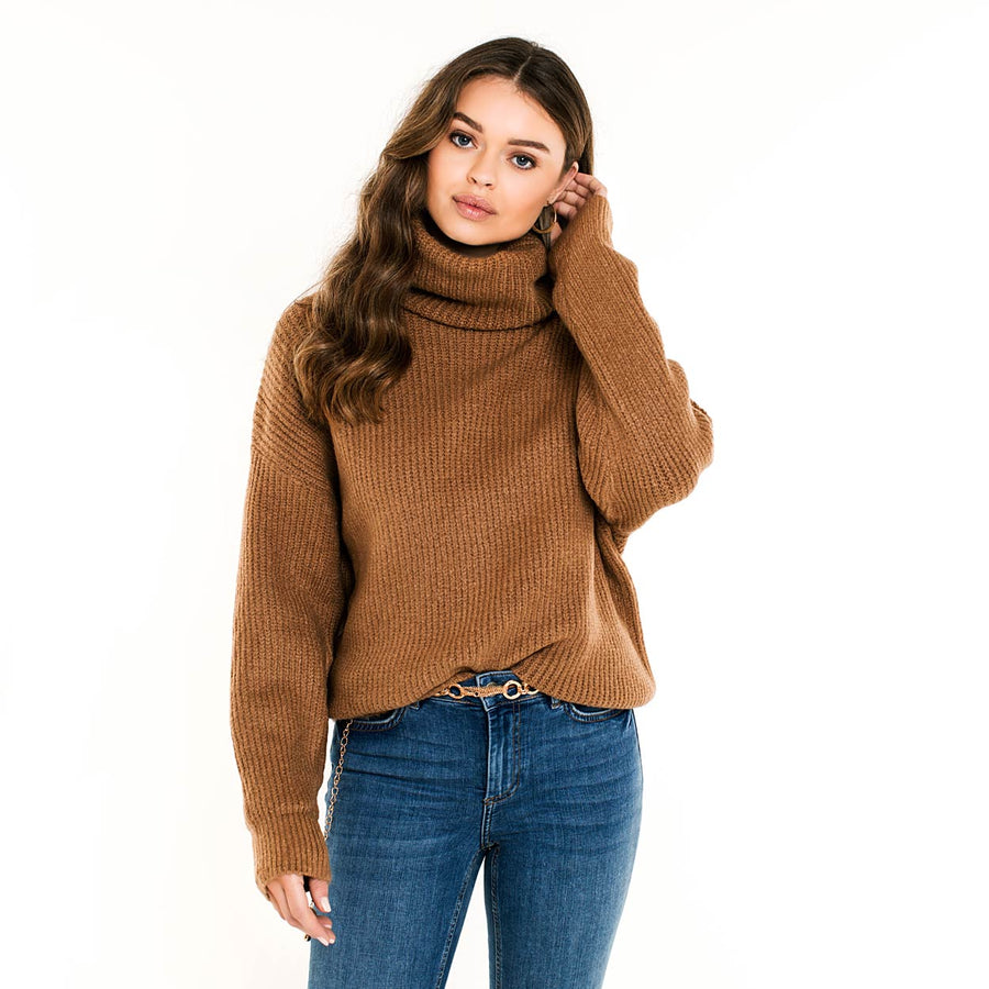 AMBIKA-STELLA-BROWN-KNIT-PF