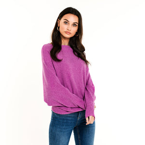 Bat Purple - Knit