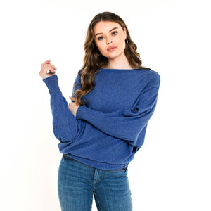 Bat Blue - Knit